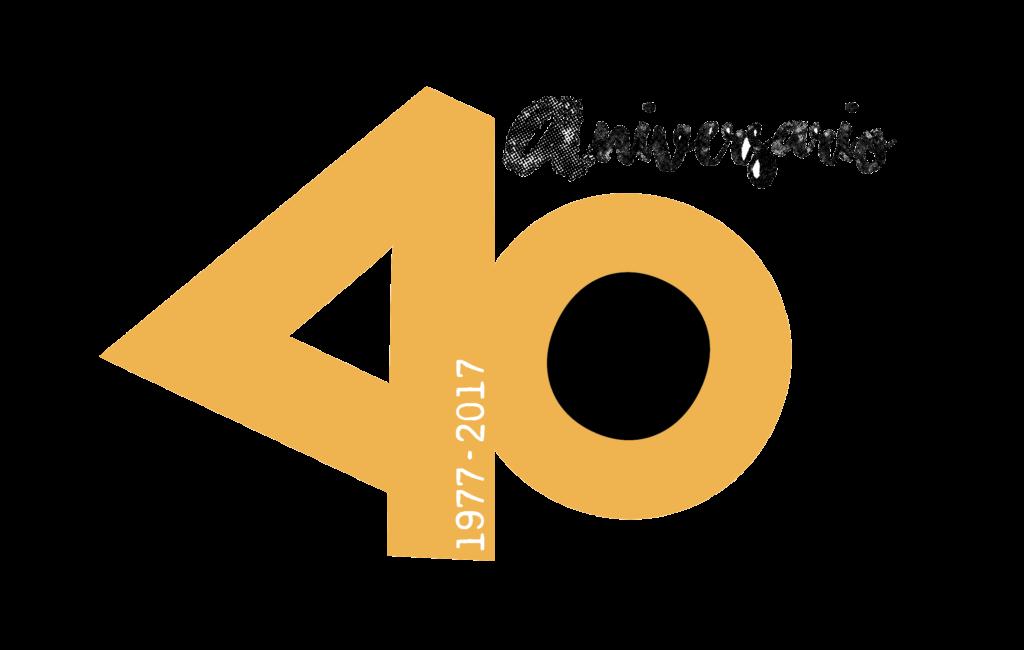 logotipo 40