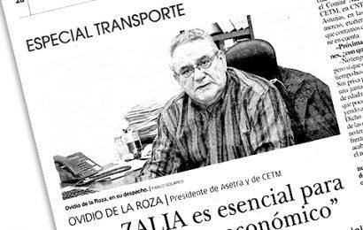 Especial Transporte en La Nueva España